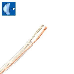TRIUMPHCABLE 5 meter speaker cable 0.5/0.75/1.0/1.5/2.0/2.5/3.0mm PVC Tinned Copper gold and silver transparent parallel line