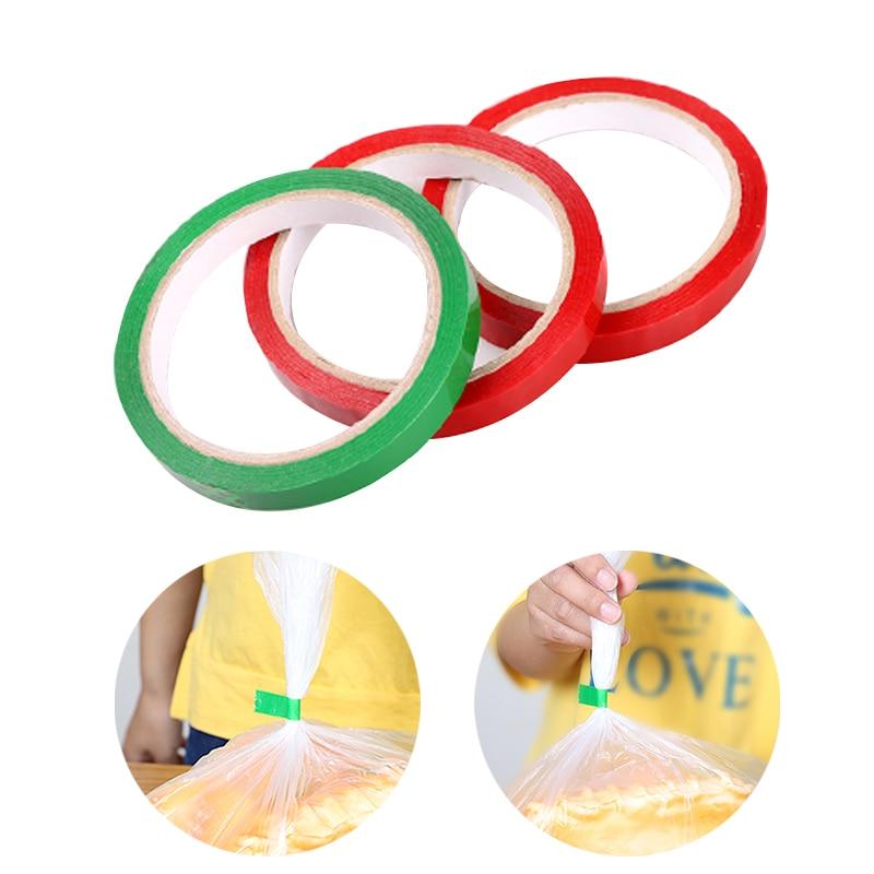 1PC bolsa de Cinta de sellado de 40m de longitud/verde/rojo fresco-mantener Cinta...