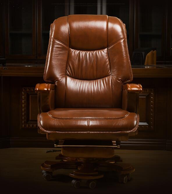Стул Boss из натуральной кожи может лежать массажное кресло с большим