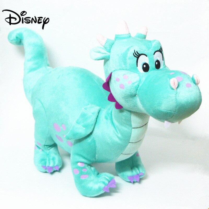 Disney Peluche Игрушки Дисней Принцесса София первые Друзья Зеленый Дракон животное плюшевые милые мягкие игрушки куклы Детский подарок