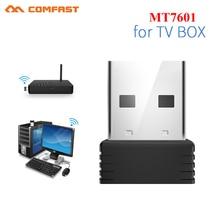 Mini USB Wifi adaptateur 802.11b/g/n antenne 150Mbps USB sans fil récepteur Dongle MT7601 carte réseau ordinateur portable TV boîte Wi-Fi Dongle