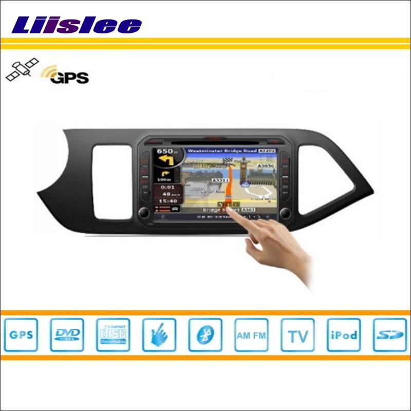 Liislee pour KIA Picanto 2012 ~ 2014 autoradio Audio vidéo stéréo CD DVD lecteur GPS carte Nav Navi Navigation S160 système multimédia