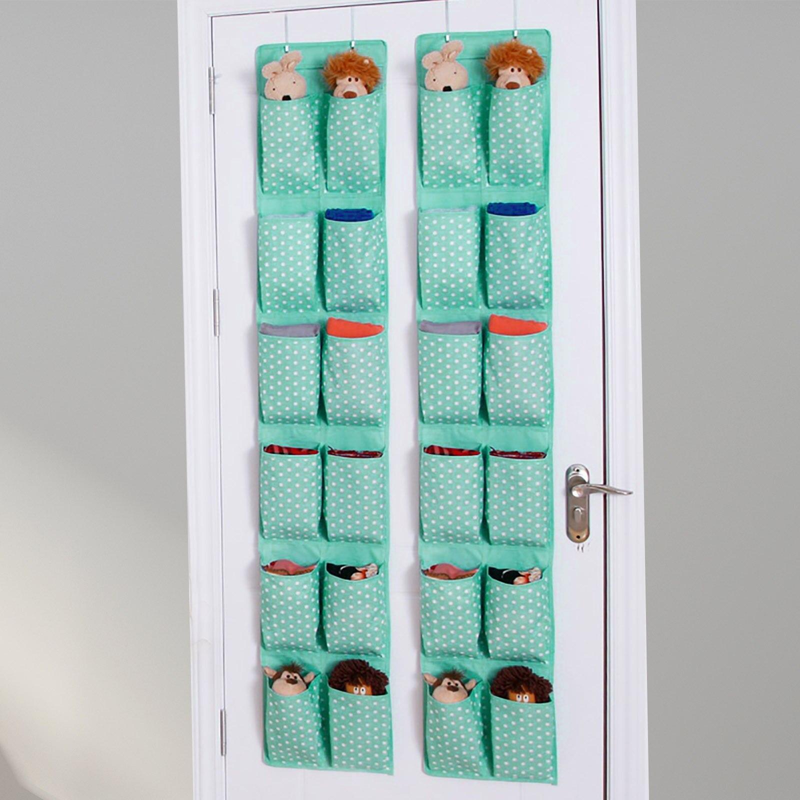4/6/9/12 bolso oxford tecido porta pendurado titular sapato organizador sacos de armazenamento sapato rack saco parede organizar sala
