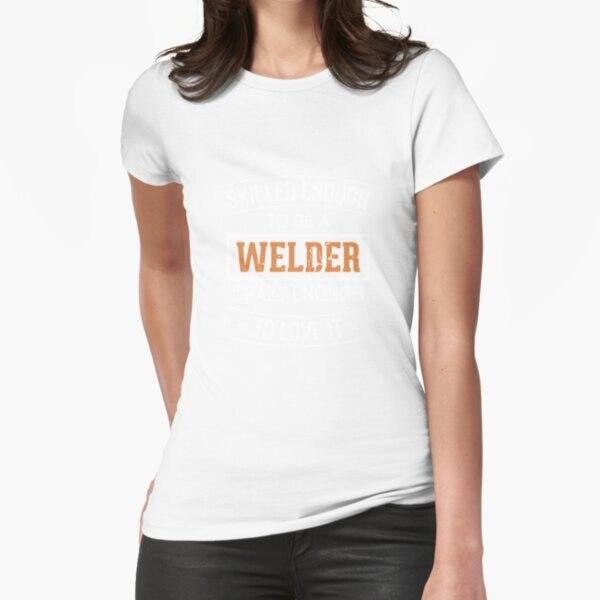 Искусно, чтобы быть достаточно сумасшедшим, чтобы понравиться, футболка с принтом