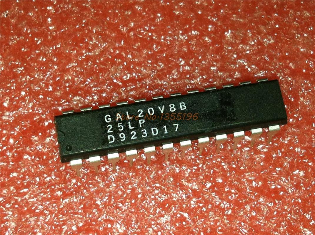 10 шт./лот GAL20V8B-25LP GAL20V8 DIP-24 в наличии