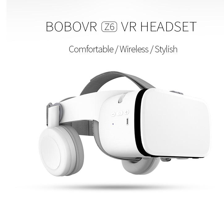 Bobo VR Z6 шлем 3D очки виртуальной реальности Гарнитура для IPhone Android смартфон очки гарнитура