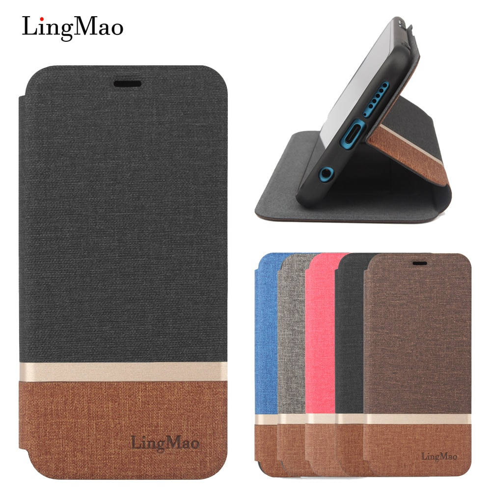 Lingmao para Huawei Honor 8 Lite PRA-TL10 funda billetera de cuero Flip bolsa cubierta Huawei GR3 2017 P9 lite 2017 Nova lite coque Funda