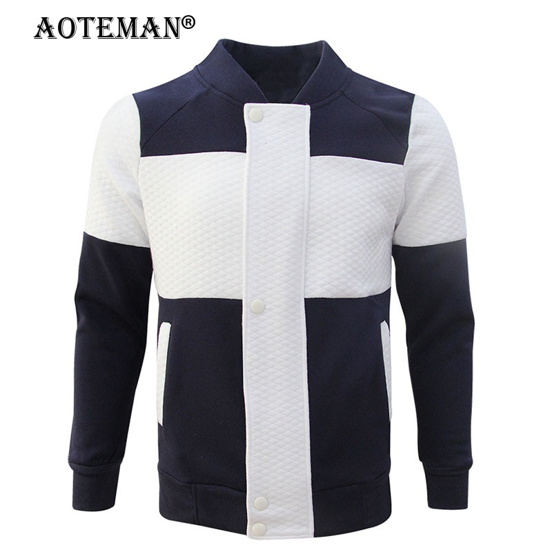 Men Bomber Jacket Baseball Coat Business Patchwork Outwears Windbreaker Spring Autumn Men's Clothing Male Slim Fit Jackets LM164 jacket men long sleeve casual chaquetas hombre spring autumn zipper bomber coat business male pure color baseball jackets homme