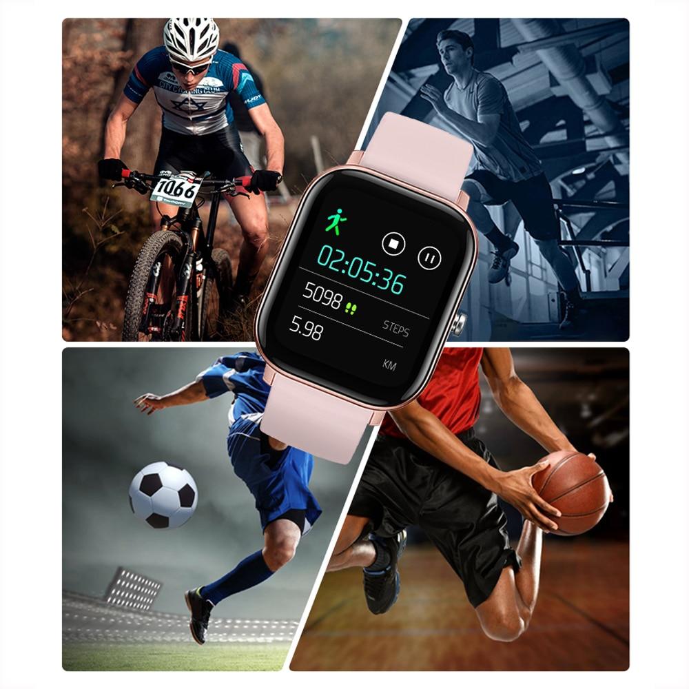 SENBONO IP67 Waterproof P8 Smart Watch Men Women Sport Clock Heart Rate Fitness tracker Sleep Monitor Smartwatch for IOS Android enlarge