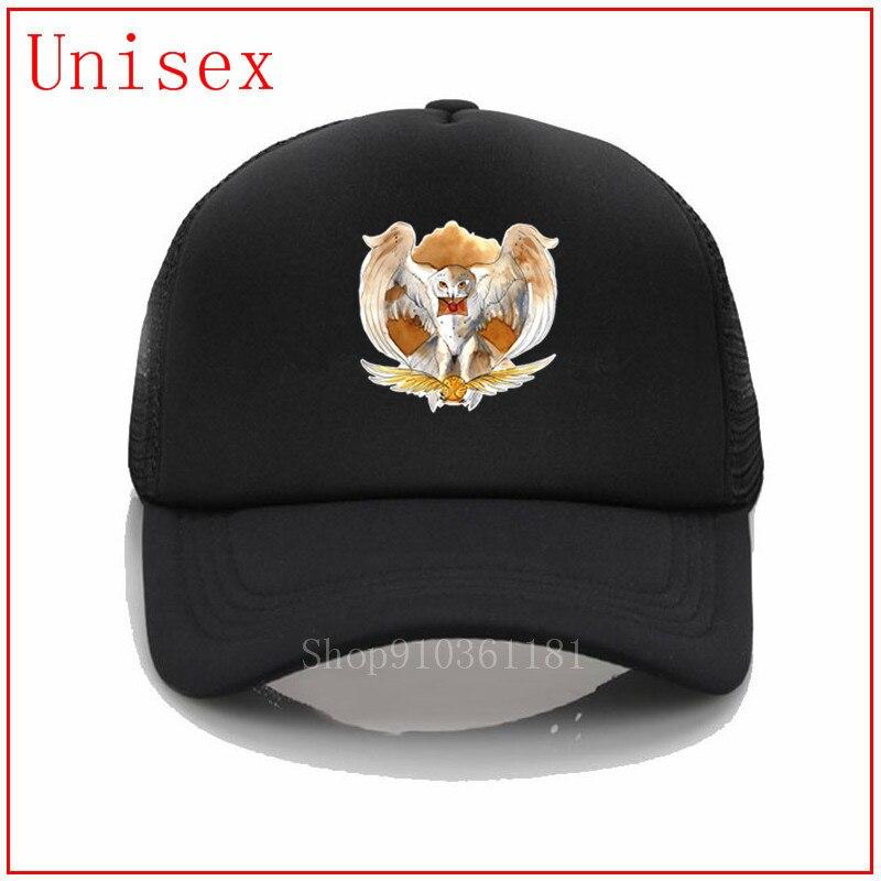 Harry potter Love-búho camionero sombrero sombreros para hombres de moda pop hombres sombreros de béisbol las mujeres más populares gorra de béisbol marca de moda