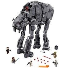 05130 Compatible lepining Star Wars 75189 75251 assaut lourd marcheur modèle blocs de construction cadeau jouets pour enfants