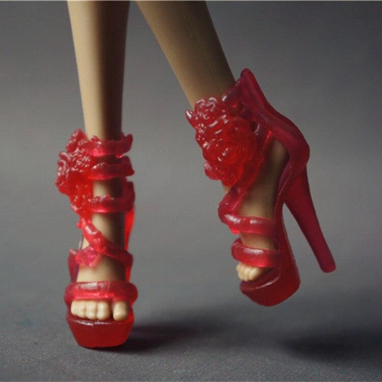 Nuevo 5 paquete de pares zapatos para 1/6 11