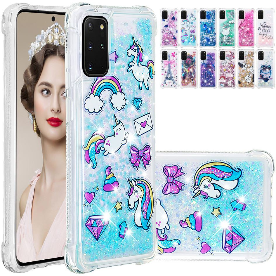 Nette Glitter Dame Quicksand Telefon Fall Für Huawei Y3 2017 Y5 Y6 2017 Y7 Prime 2017 Funkelt Anti-herbst flüssigkeit Zurück Abdeckung Tasche D03E