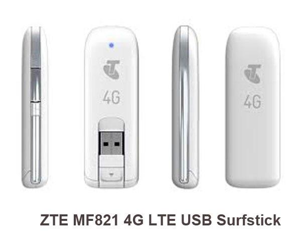 Original Unlocked ZTE MF821 MF821D 4G 3G LTE USB Dongle USB Stick Mobile Broadband Modem internet key PK MF823 MF831 MF820 enlarge