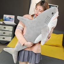 60-100cm Shark Plush Toys Pillows sofa Cushion Soft Stuffed Sea Animals Doll Xmas Gift For Baby Kid Children Playmate
