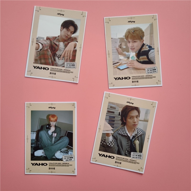 KPOP N.Flying Same Type Of Small Card LOMO Card Photo Card Photo Hot Sale Lee Seunghye Cha Hoon Kim Jae Hyun Ryu Huisung Around the 20th memorial at collectors edition kim jkwang seok lee jong gu release date 2016 04 26 kpop
