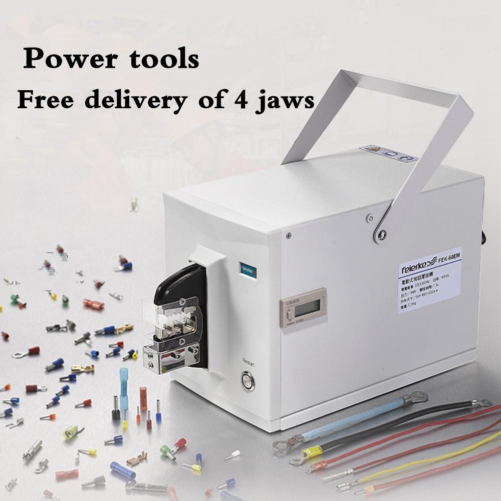 FEK60EM-Power tools  New Generation Sarmt Electrical Type Terminal Crimping Machine Tools Crimp Variety Of Terminals ferramentas