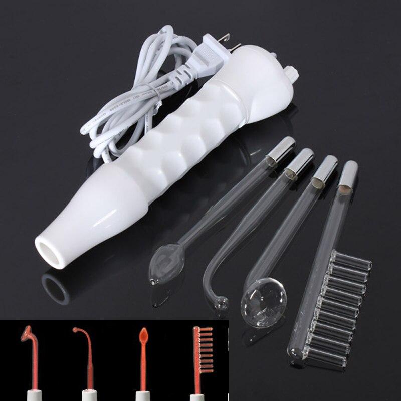 La peau portative à haute fréquence de Machine Darsonval serrant loutil de soin du visage délectrode de cheveux de visage de décapant de cicatrice de tache dacné