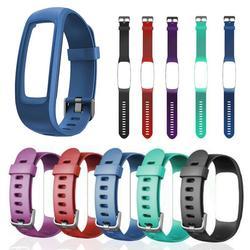 Silikon Smart Uhr Strap Für Fitness Tracker Monitor Ersatz Strap Uhr Band Armband mit Rahmen Fall für ID107 Plus