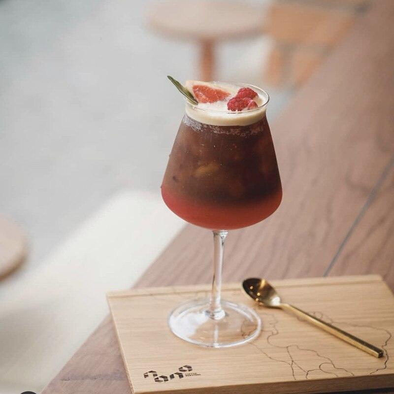 2 قطعة/المجموعة الخالي من الرصاص زجاج كأس متعددة الأغراض القمح البيرة ستينس الأحمر النبيذ الزجاج العملي بارد المشروبات كأس النبيذ مجموعة