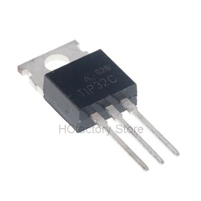 Новый оригинальный 10 шт./лот TIP32 TIP32C PNP/контроль транзисторов/транзисторов дарлингтона транзистор TO-220 оптом единичный список распределения