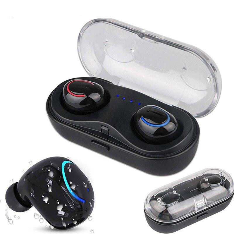 Auriculares inalámbricos Bluetooth para OUKITEL C15 K7 K9 K10 K10000 C8 C12 C16 Pro funda auriculares con micrófono banco auriculares