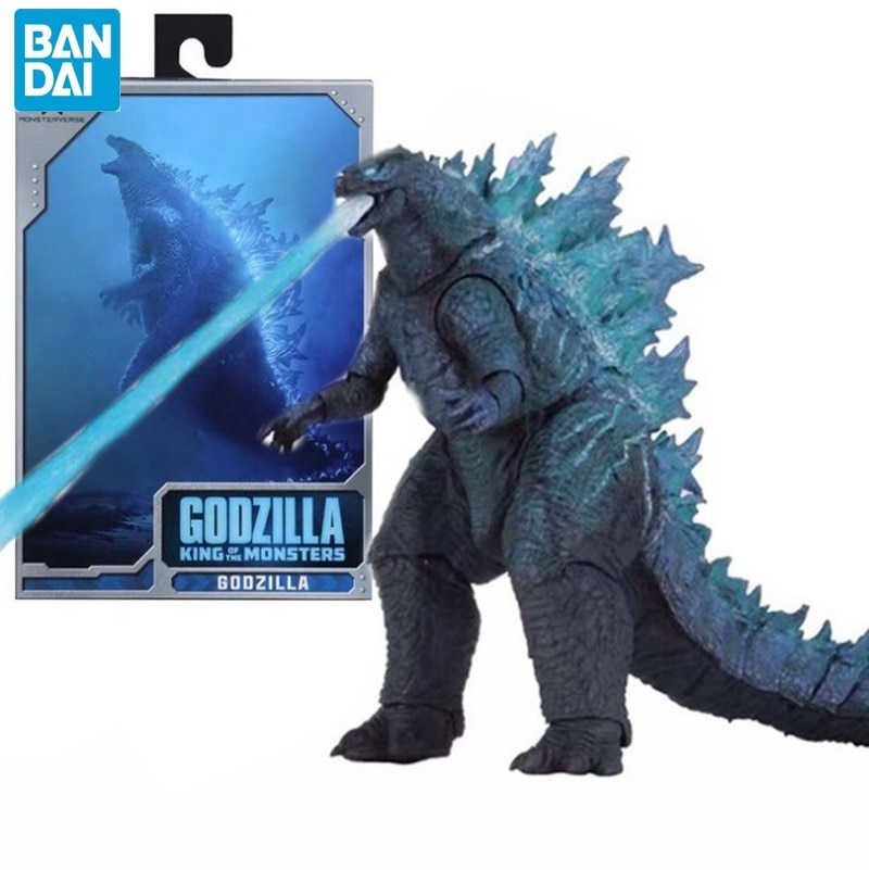 BANDAI Godzillas 2019 Movie Nuclear Power Injection Energy Version SHM Godzillas Monster Mobile Phone Model Hand To Do