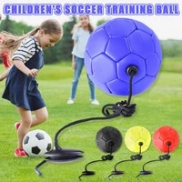 new soccer training ball football with rope practice for children kids beginner trainer