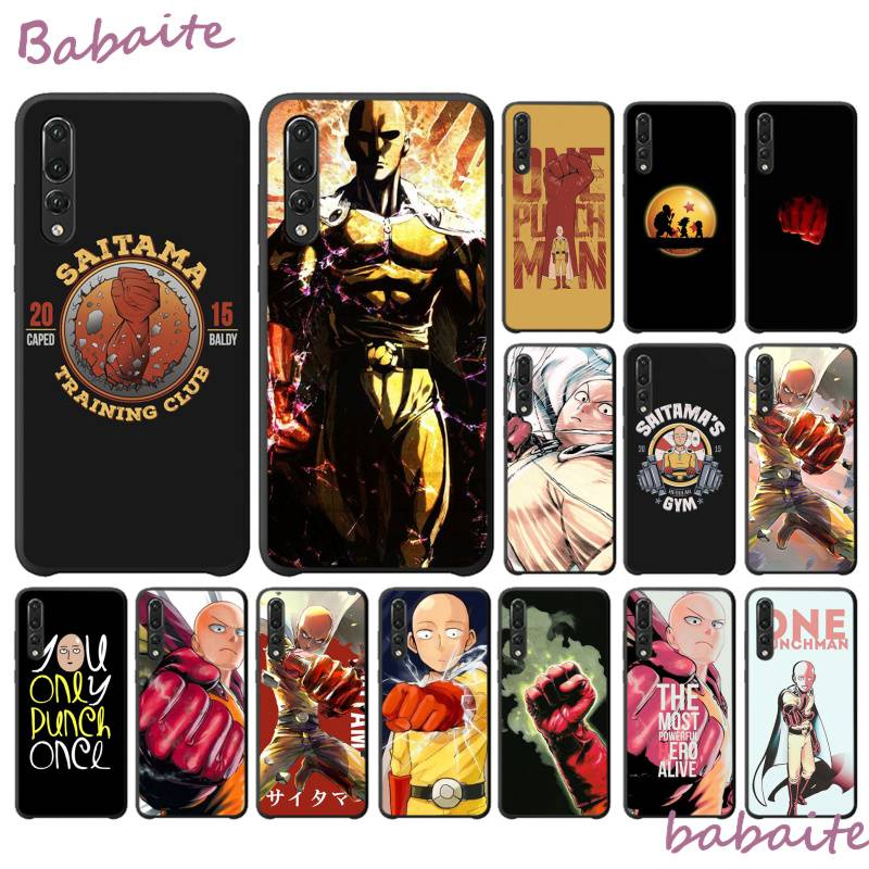 ¡Novedad! Funda Babaite one Punch man saitama para Huawei Y6 7 2019 MATE 10 LITE PRO 9 20 X Pro 20 lite, funda