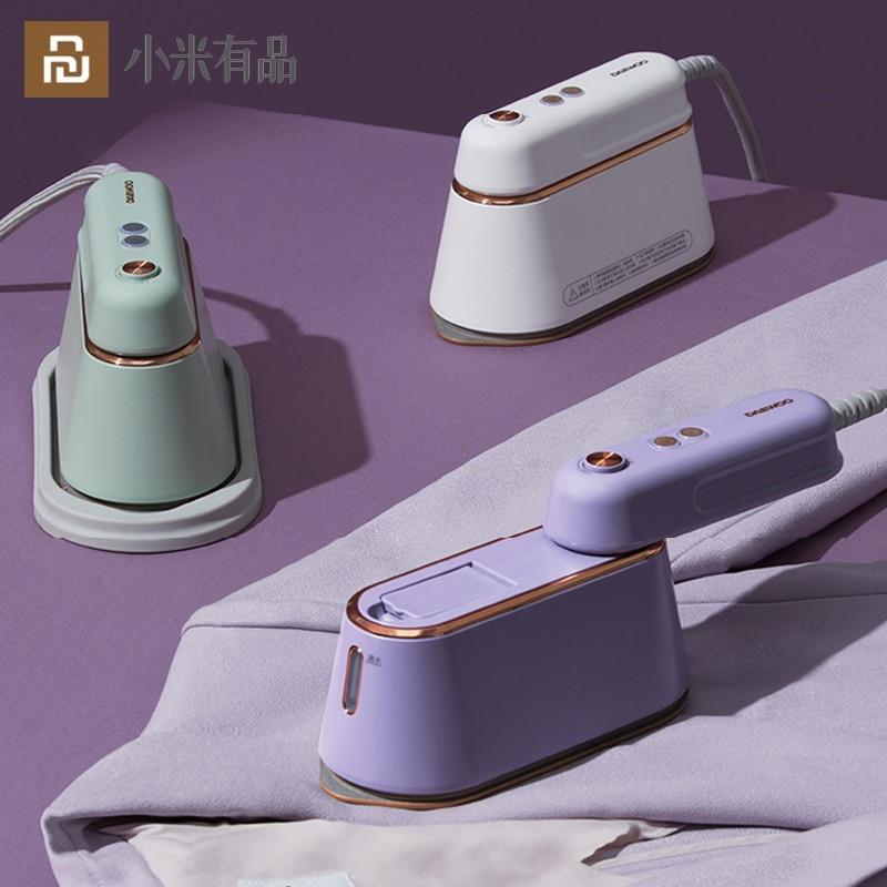شاومي يوبين دايو آلة الكي المحمولة مكواة البخار المنزلية 1000 واط الملابس المحمولة باخرة خزان المياه الجاف الرطب المزدوج الكي