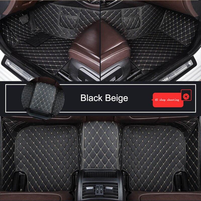 Customized Car Floor Mat for A5 SPORTBACK Cabriolet Convertible Descapotable A1 A2 A3 A4 A6 A8 Car Accessories enlarge