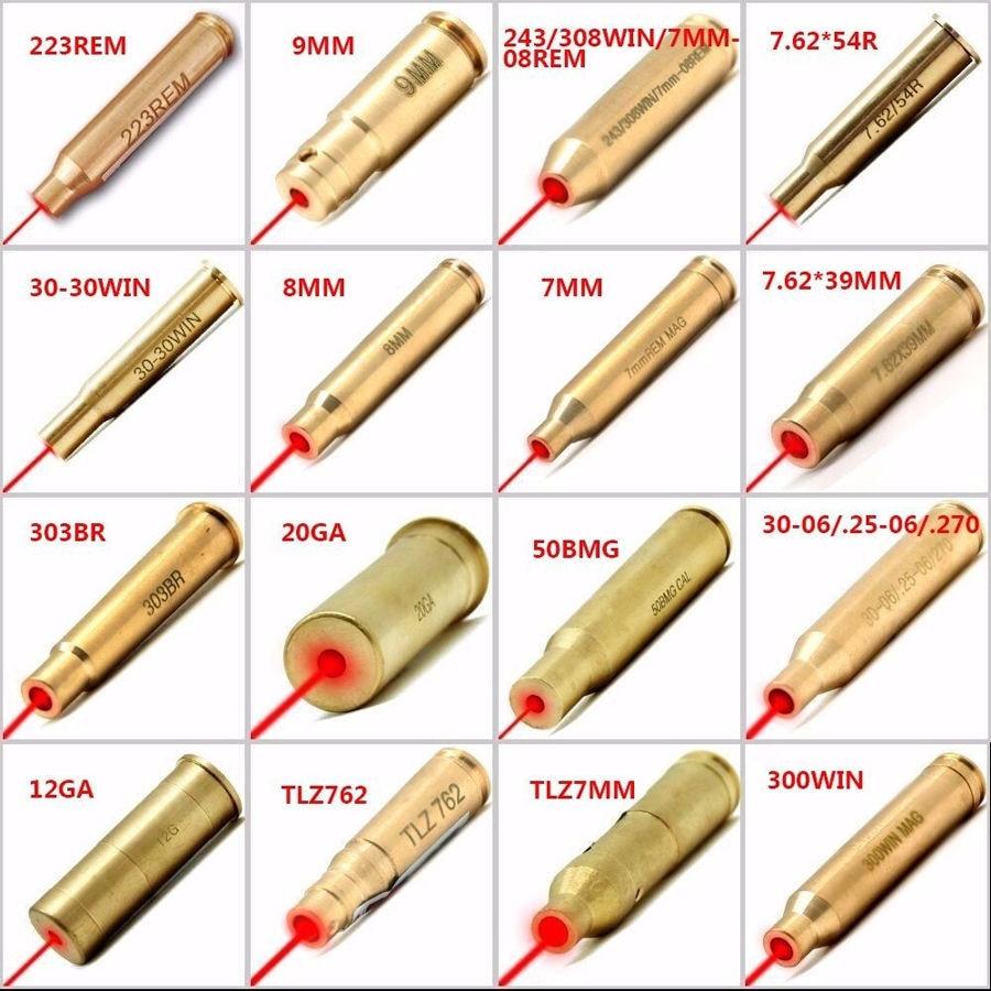 Calibrador de instrumento de puntería escolar con láser rojo 223rem