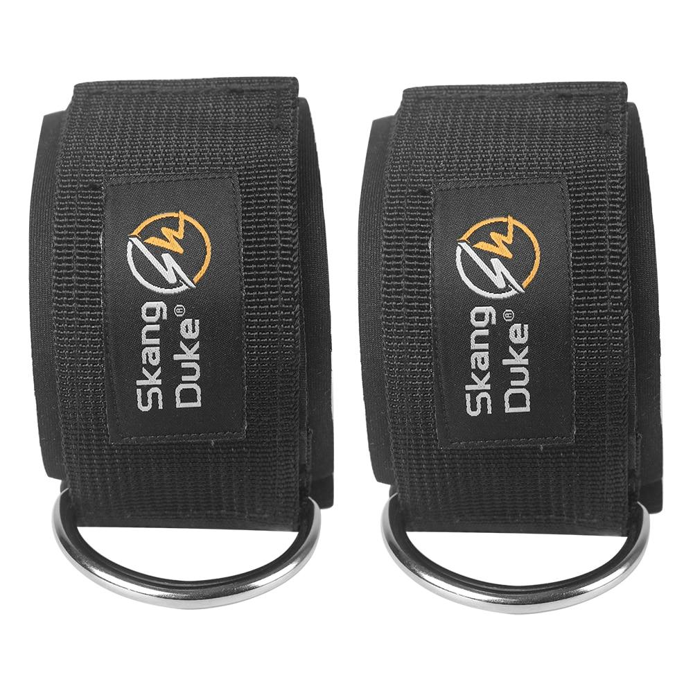 Skangduke Ankle Guard Strap Retainer WeightsBodybuilding Straps Gym Sport Equipment Lock