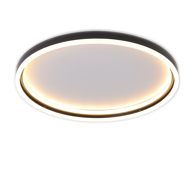 NEO Gleam Gold/Black Finished Modern led ceiling lights for living room bedroom study room home 110V 220V Ceiling Lamp  - buy with discount
