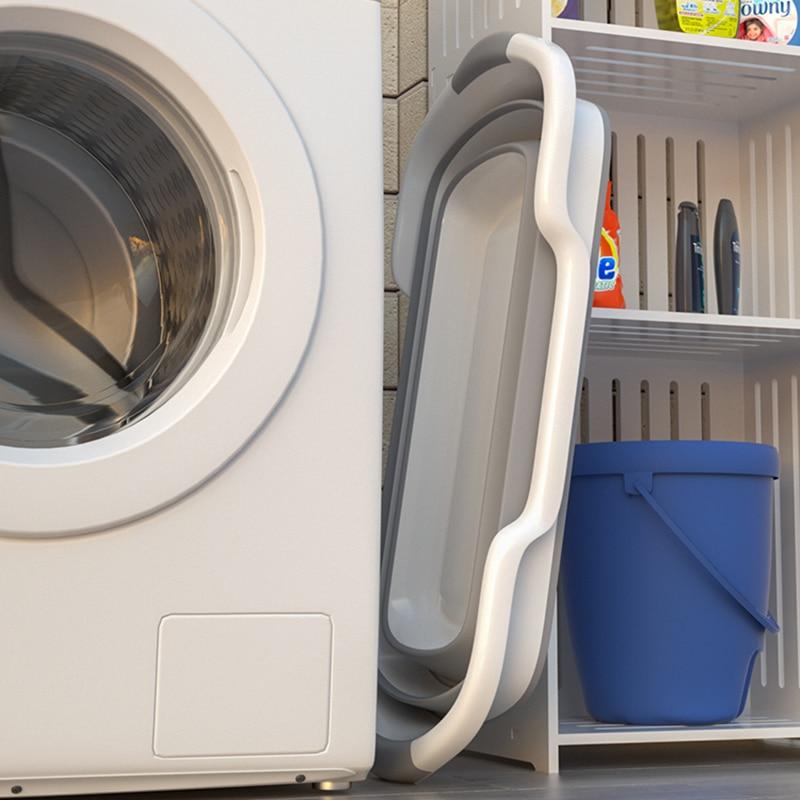 1PC Portable Folding Bathtub Baby Shower Portable Silicone Capacity Washing Storage Non-Slip Dog Bath Tubs Foot Spa Bath Hot Tub enlarge