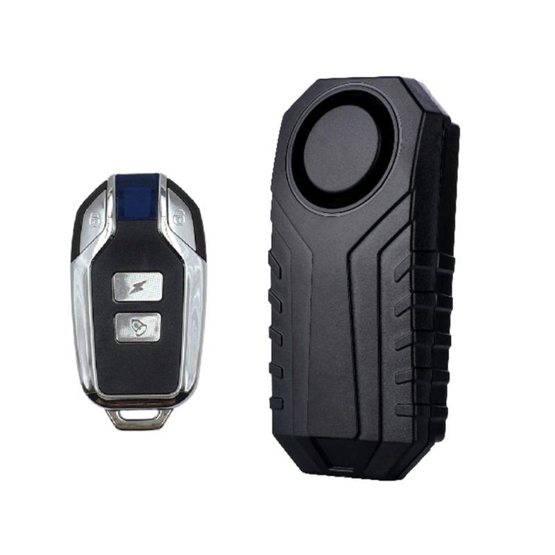 Marlboze Waterproof Remote Control Bike Motorcycle Electric Car Vehicle Security Anti Lost Remind Vibration Warning Alarm Sensor
