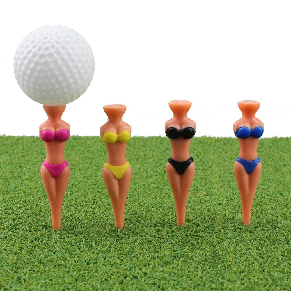 5 частей привлекательных женских бикини тройник для гольфа Пластиковые аксессуары