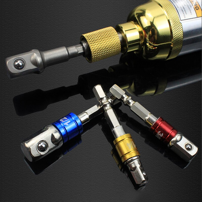 3Pcs Driver Adapter Allen Key Extension Drill Bits Socket Adapter Power Extension Bit Set For Drill Bits Nut Driver Accessories