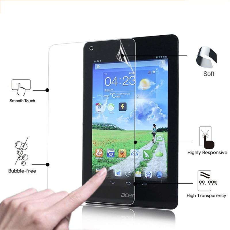 Protector de pantalla frontal de brillo muy transparente para Acer Iconia One,...