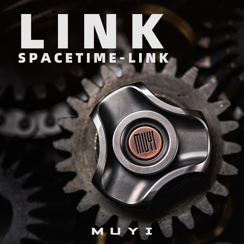 MUYI LINK Fingertip Gyro Out Of Print Decompression EDC Toy High-speed And Durable Spinning Top enlarge