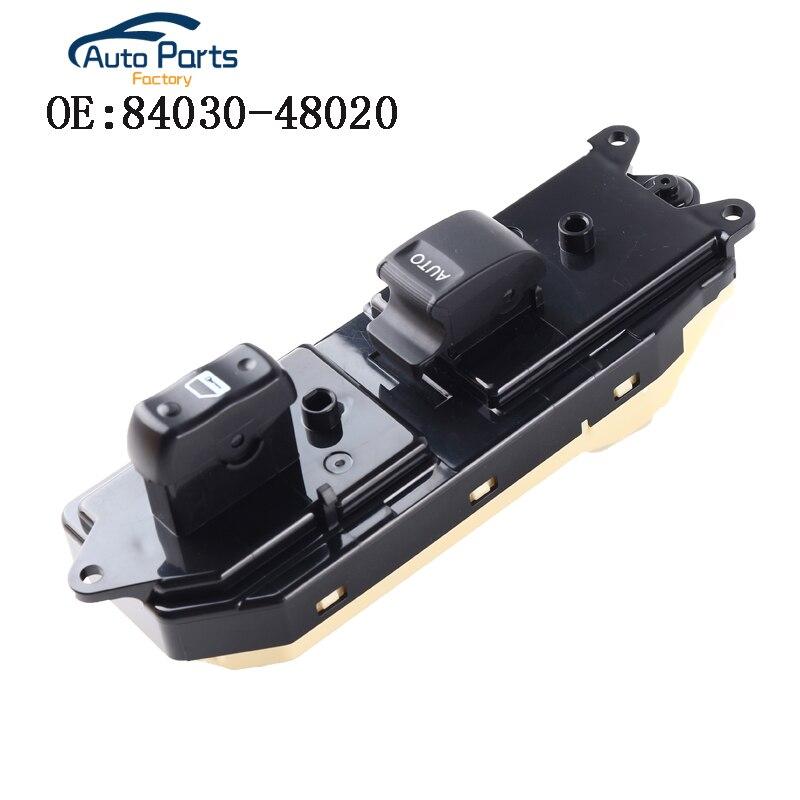 Interruptor de ventana lateral del pasajero delantero para LEXUS 99-03 RX300 84030-48020 8403048020