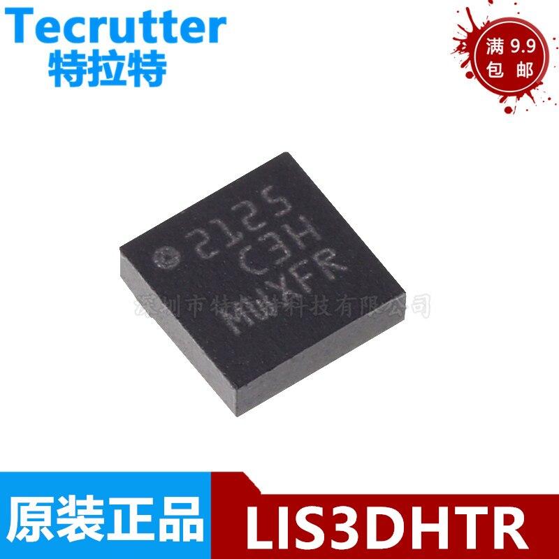 (5-10 peças) chipset lis3 lis3dh lis3dhtr qfn