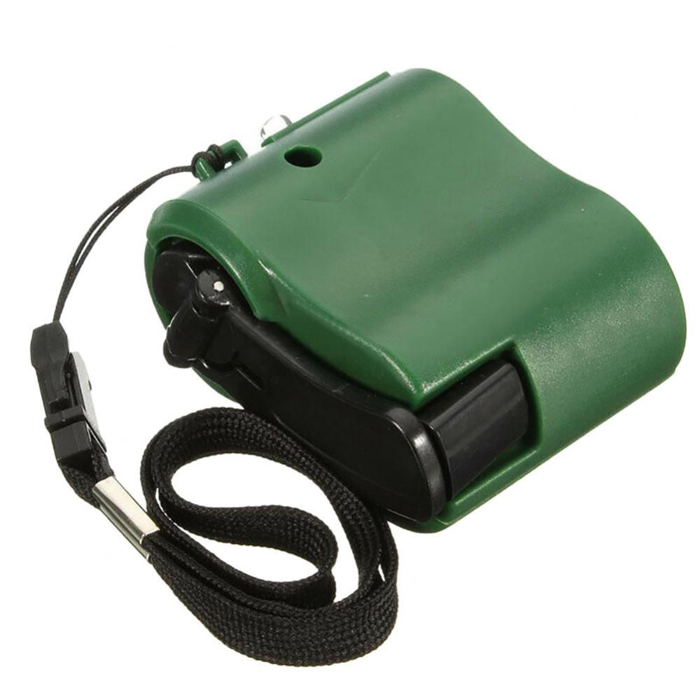 60% Hot Sale USB Hand Crank Phone Charger Manual Outdoor Hiking Camping Emergency Generator Camping Outdoor Tools
