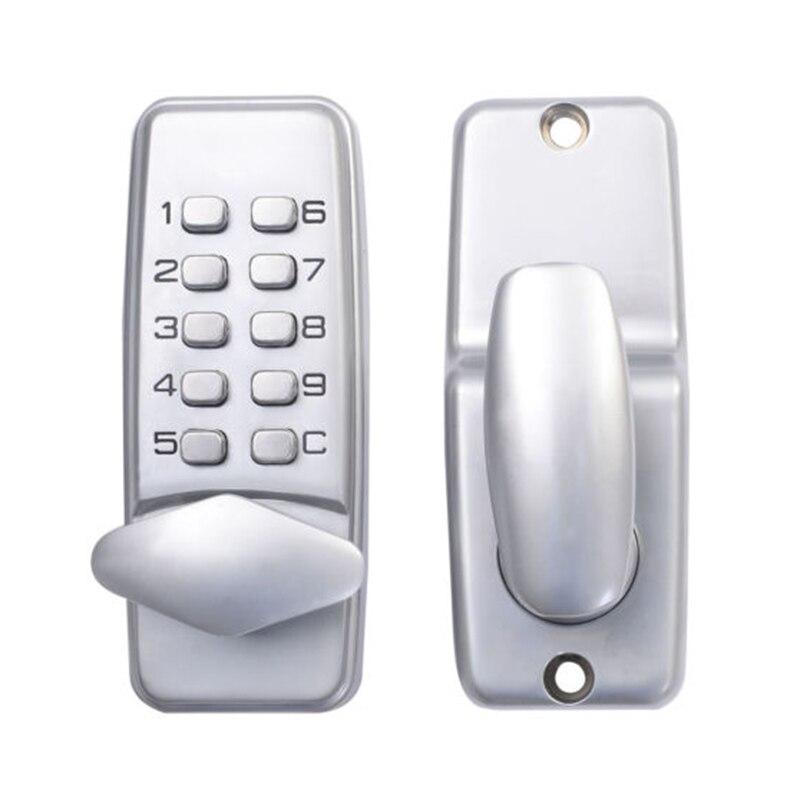 قفل فتح الباب برمز رقمي ولوحة مفاتيح وكلمة مرور