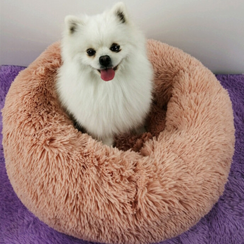 Cama supersuave de invierno para mascotas, cama caliente para dormir para perros,...