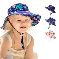 quick drying l childrens bucket hats for 3 months to 5 years old kids wide brim beach uv protection outdoor essential sun caps