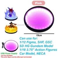 compatible 1144 hg rg sd gundam model 112 110 118 3 75 joytoy action figure model led light display stand holder base