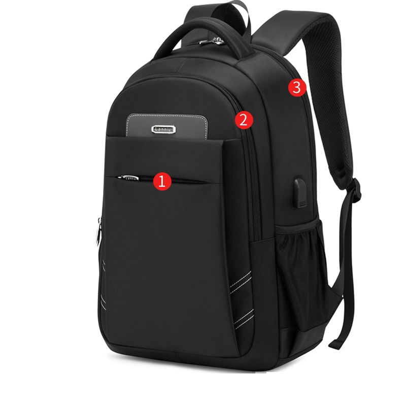 backpack men s korean wave casual backpack men s bags computer bags large and medium sized student bags fashion travel bags Waterproof Male Backpack Bag High Quality School Bags Teenager Backpack Men Notebook Computer Casual Travel Bag Large Capacity
