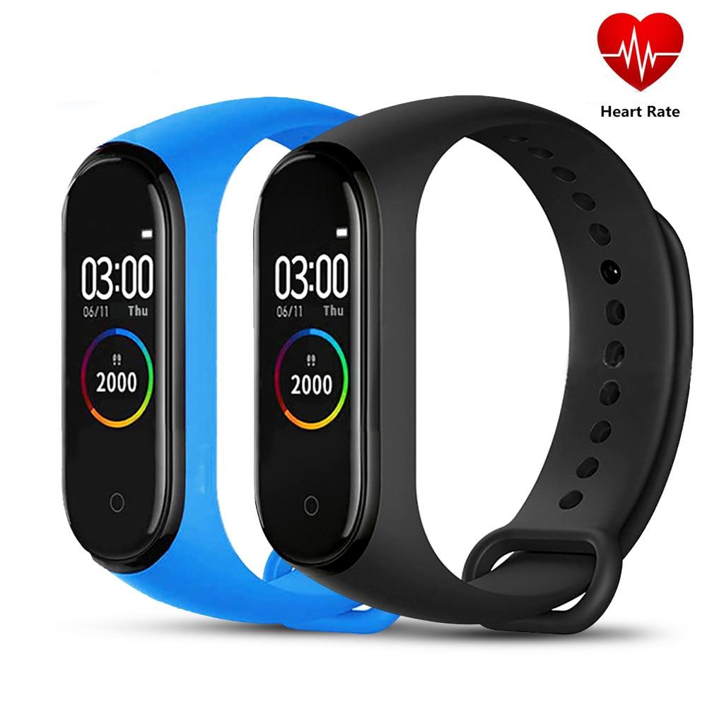 M4 Smart band 4 Fitness Tracker reloj deporte pulsera ritmo cardíaco presión arterial Smartband Monitor salud pulsera usable PK R1