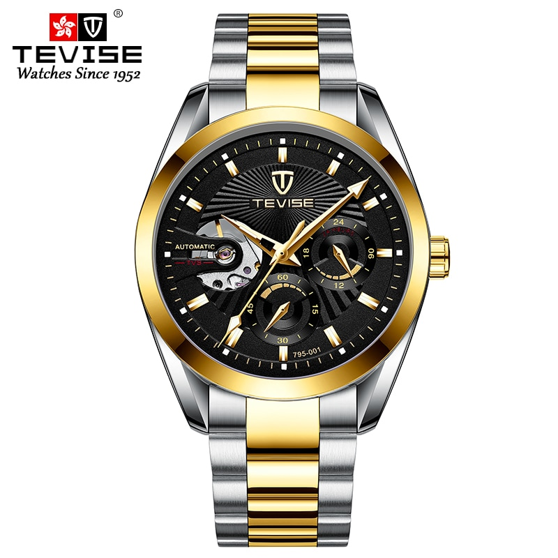 3ATM Waterproof Automatic Men's Luxury Watch For Men Mechanical Watches Ussr